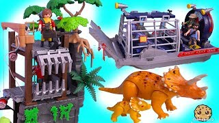Dinosaur Haul ! Playmobil Dino Explorer Toy Sets - Cookie Swirl C