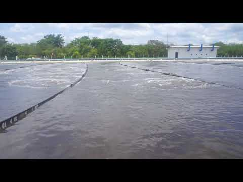 Aerated lagoons for wastewater treatment