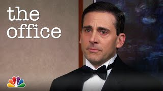 "Michael Scott's Emotional Farewell Song: ""9,986,000 minutes"" - The Office"