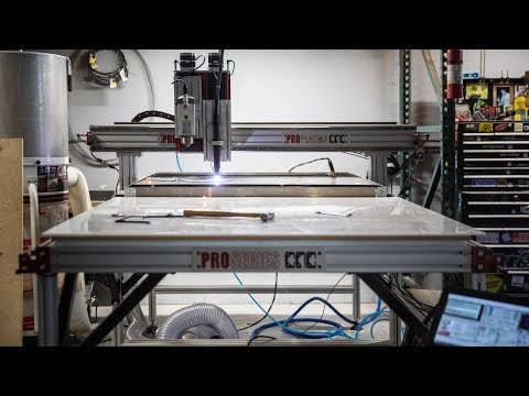 Building a CNC Router and Plasma Machine!