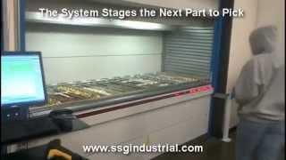 Parts & Kitting Batch Picking Accuracy & Productivity with Vertical Lift Module Storage Machines Thumbnail