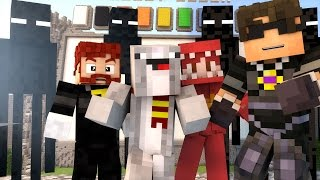 TAKING A BULLET FOR RED?! | Minecraft Mini-Game MASHUP! /w Facecam