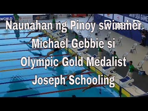 PHILIPPINES-Gebbie,Luke BEAT SINGAPORE-Schooling,Joseph|AQUATIC SWIMMING MEN 100m FREESTYLE HEAT 2