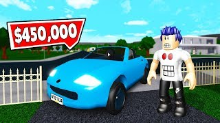 I BOUGHT THE MOST EXPENSIVE CAR IN BLOXBURG! -Roblox Adventure #22