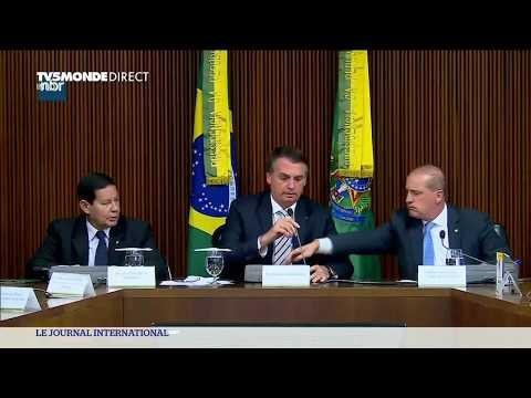 Brésil : Jair Bolsonaro précise sa politique, suite à son investiture de chef de l'Etat