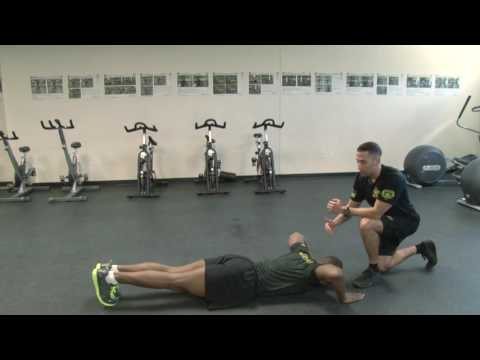 Fitness Forum: The Trunk Stability Push-Up