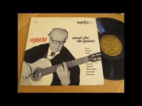 Segovia – Music For The Guitar - 1960 - full vinyl album