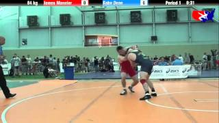 James Mannier vs. Gabe Dean at 2013 ASICS University Nationals - FS