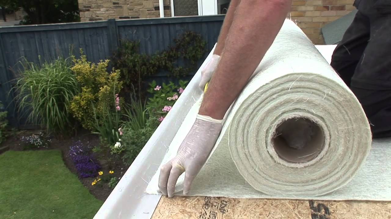 CFS Cure It Flat Roofing System  YouTube