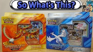 what s this lugia ho oh legendary battle decks