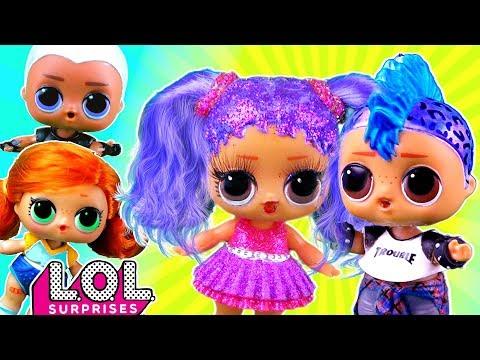Скейти и Витчи в ШОКЕ! Панки и Мария гуляют вмести! Мультик про куклы лол сюрприз LOL Dolls