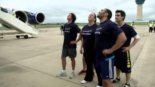 British Airways Man Vs Plane - Racing against an A380 in Durban