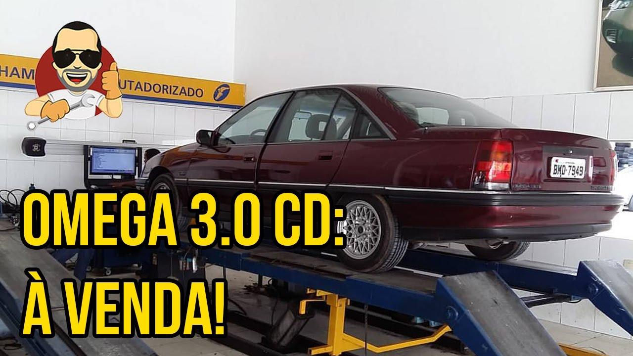 416db06cd22 OMEGA CD 3.0 DO FAVERA  VENDIDO! - YouTube