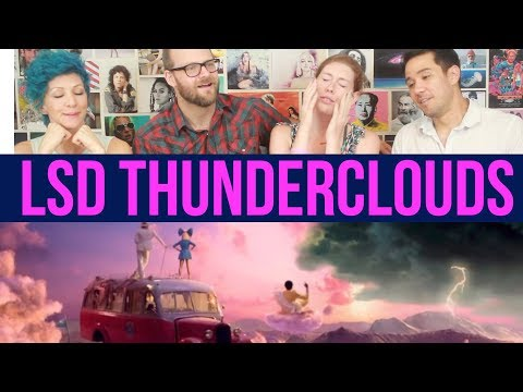 LSD - Thunderclouds - Sia, Diplo, Labrinth - REACTION
