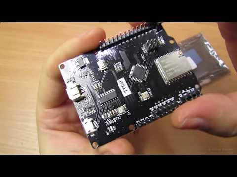 LILYGO SX1278 TTGO, Arduino и LoRa радиомодуль на одной плате