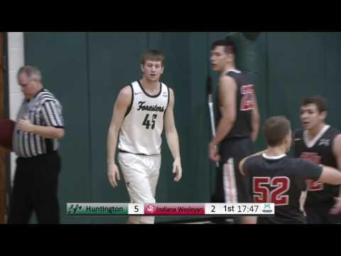 HU Men's Basketball vs. Indiana Wesleyan University -- 2/4/17