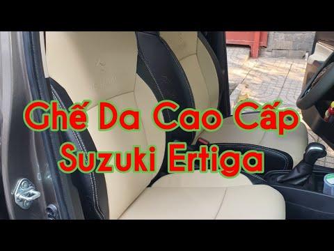 May Ghế Da Xe Suzuki Ertiga Đẹp Nhất Tại Sài Gòn