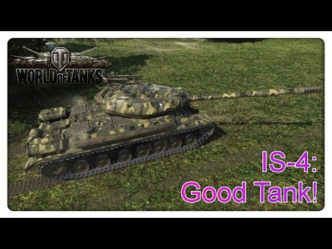 Stream Highlight: IS-4 good Tank! [World of Tanks - Gameplay - Deutsch]