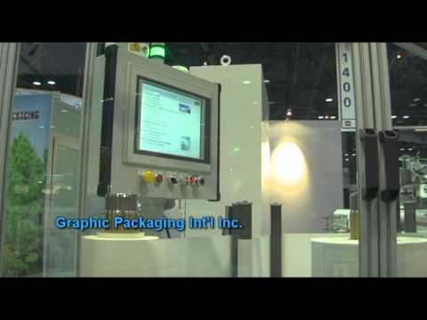 Automated By B&R - Graphic Packaging @ Pack Expo 2010