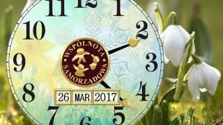 Zmiana czasu 26 Marca 2017