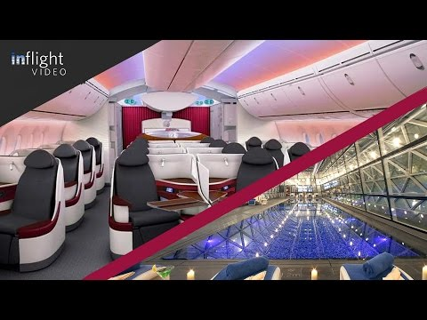 Qatar Airways Business Class & The World's Best Airport Hotel