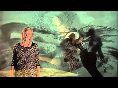 Het geheim van Kaidara, zandverhaal Verteltheater Zandtekenaar