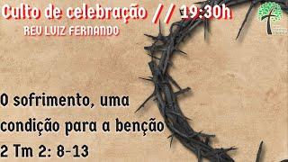 Culto de Celebração 19:30h // 22 de novembro de 2020 // Igreja Presbiteriana Floresta - GV