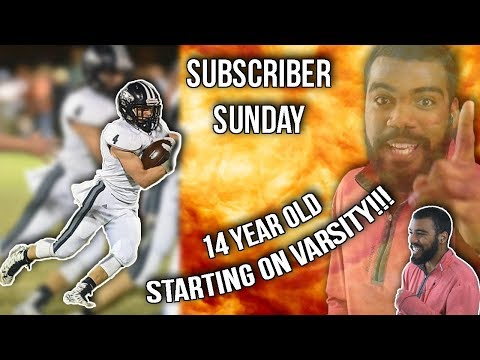 14 Year Old Running Back Starting On Varsity!!! Wise Gordon Highlights [Reaction]