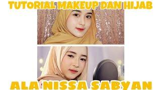 Tutorial Makeup dan Hijab ala Nissa Sabyan Gambus