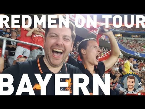BATTERING BAYERN! | Bayern Munich 0-3 Liverpool | Redmen On Tour