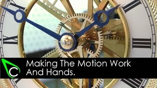 how to make a clock in the home machine shop part 16 making the motion work and hands