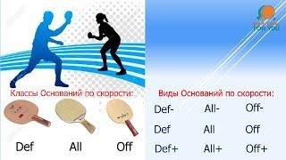 Выбор основания для настольного тенниса