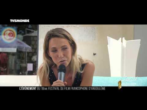 """Laura SMET à Angoulême: """"Jouer me fait sortir de mon corps"""""""