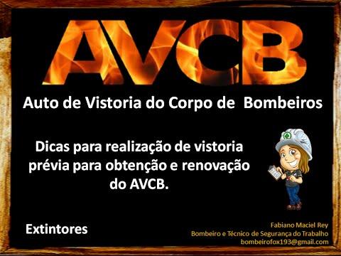 AVCB - Dicas para vistoria prévia - Aula 01 - Extintores