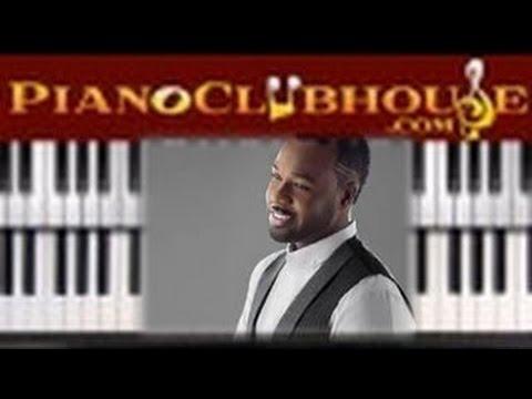 GOD MY GOD - Vashawn Mitchell (easy gospel piano lesson tutorial)