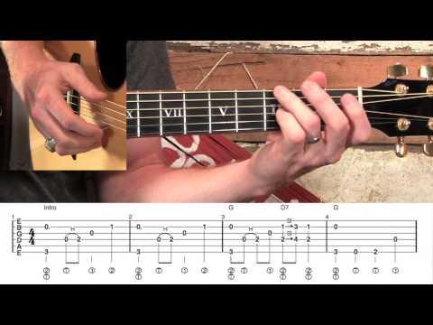 Jesus Loves Me- Fingerstyle Guitar!
