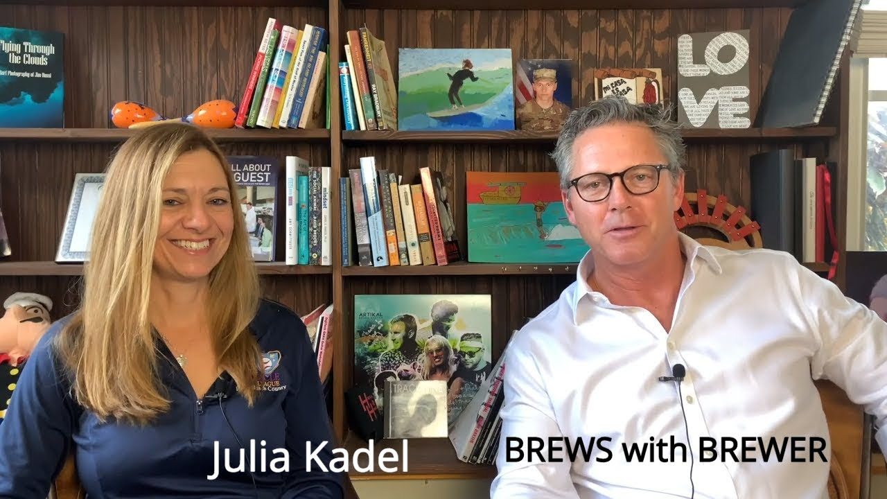 Julia Kadel-The Miracle League of Palm Beach-BREWS with BREWER