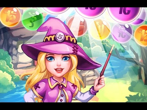 Panda Witch Pop Bubble Shooter - Android/iOS Gameplay