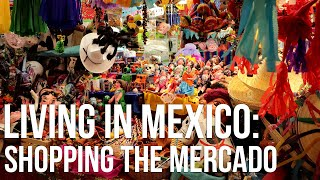 Shopping in a Mexican Market: Food + Souvenir Haul with Prices
