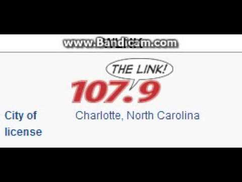 WLNK 107.9 The Link Charlotte, NC TOTH at 4:00 p.m. 7/20/2014