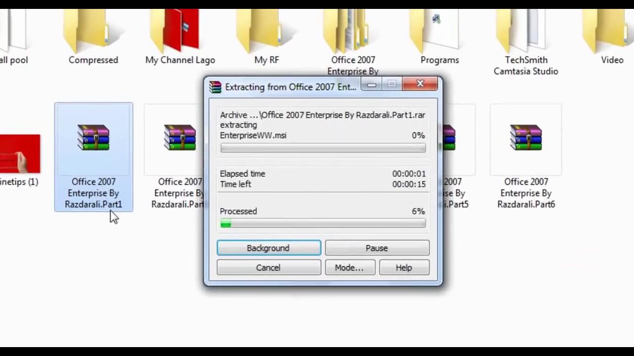 microsoft office enterprise 2007 downloads
