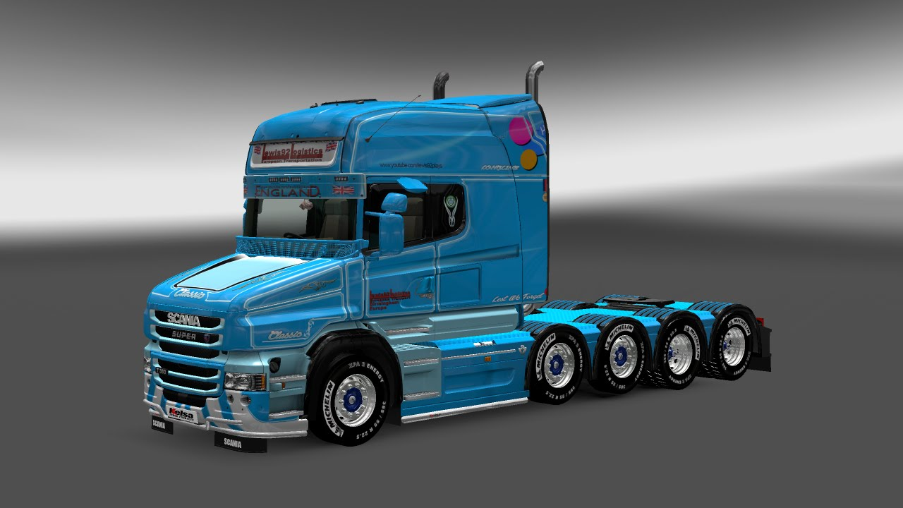 Truck Interieur Accessoires Euro Truck Simulator 2 Scania T Accessories Mod Test