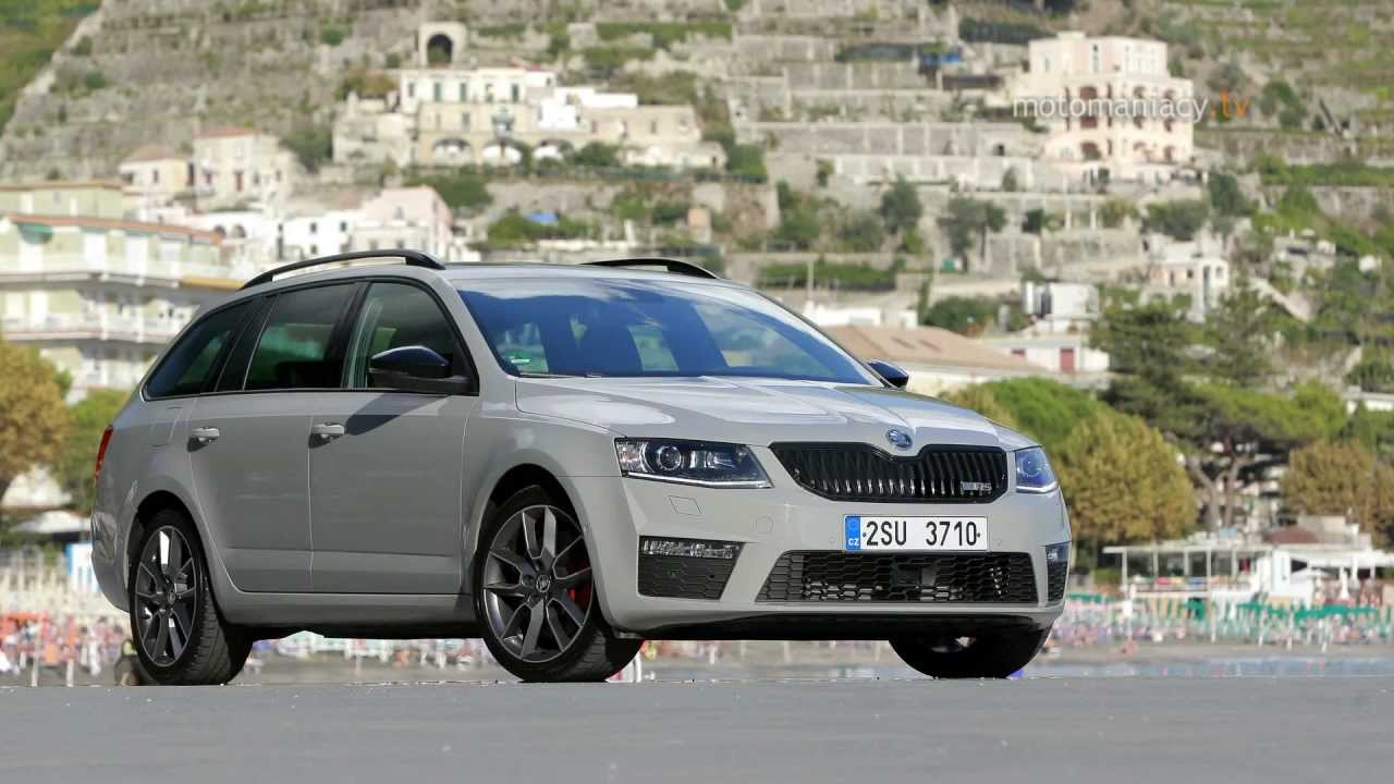 Nowa Skoda Octavia III RS - www.motomaniacy.tv - YouTube
