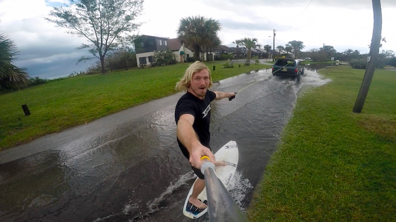 STREET SURFING in CENTRAL FLORIDA!