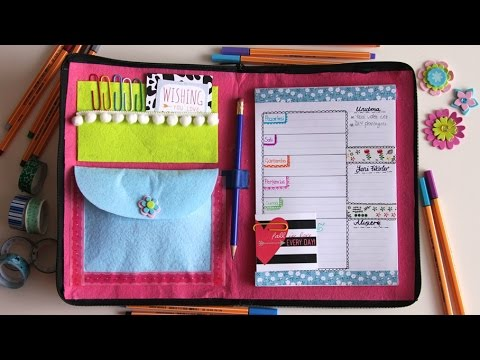 Kendin Yap PLANLAYICI / DIY Planner (ENG SUB) Back to School