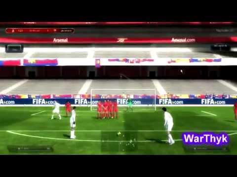 Hướng dẫn sút phạt 2 chạm thần sầu đẹp mắt FIFA Online 3