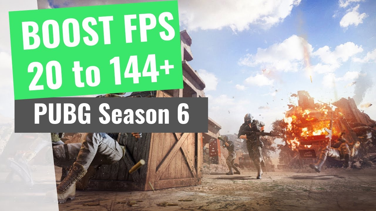PUBG Season 6 – How to BOOST FPS and Increase Performance / STOP Stuttering on any PC
