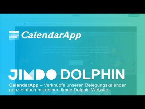 CalendarApp – Belegungskalender Mit Jimdo Dolphin Verknüpfen