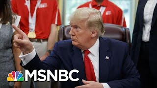 President Donald Trump On 'Send Her Back' Chants At Rally: 'I Was Not Happy With It' | MSNBC