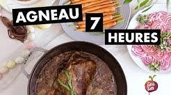 GIGOT D'AGNEAU SEPT HEURES 🐑Agneau Paques à la cuillère Petite bette